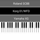 USB Midi Keyboard icon