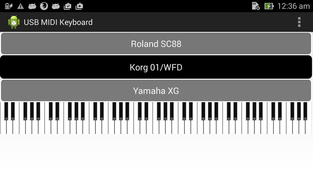 USB Midi Keyboard for Android - APK Download