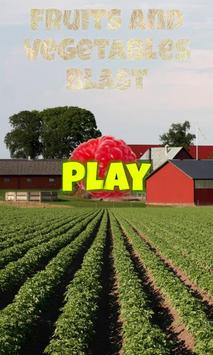 Fruits and Vegetables Blast poster