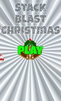 Stack Blast Christmas poster