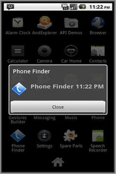 Phone Finder Ad apk screenshot
