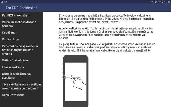 PDS priekšraksti apk screenshot