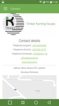 Transval - Wooden houses apk screenshot