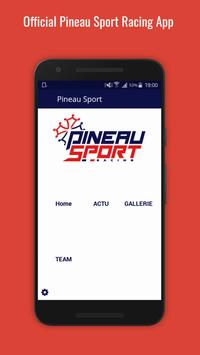 Pineau Sport Racing App poster