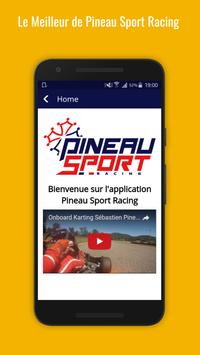 Pineau Sport Racing App screenshot 1