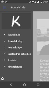 kowabit - der blog apk screenshot