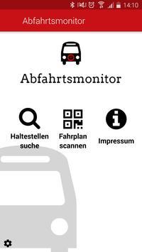 Abfahrtsmonitor poster