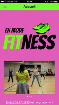 En Mode Fitness poster