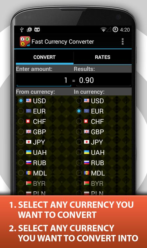 Currency Exchange Rates Live Poster Screenshot 1