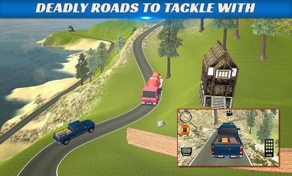 Truck Simulator USA:Hill Climb apk screenshot