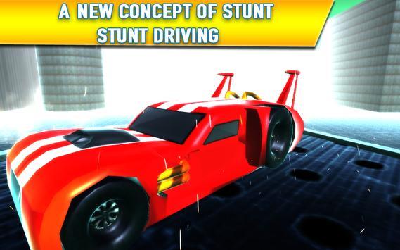 City Car Stunts Racing 3D Arab poster