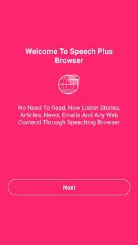 Speech Plus Browser screenshot 1