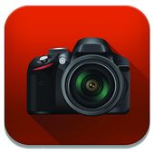 hd camera zoom camera icon