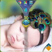 Cute Baby Zipper Lock icon