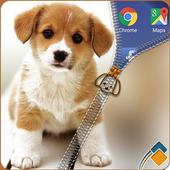 Puppy Zipper Lock icon