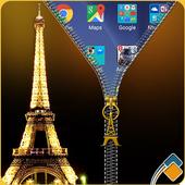 Paris Zipper Lock icon