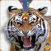Tiger Zipper Lock icon
