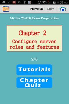 MCSA 70-410 Exam Preparation poster