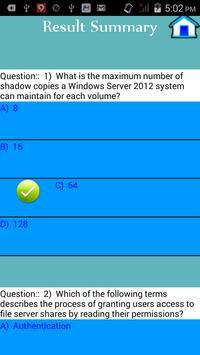 MCSA 70-410 Exam Preparation apk screenshot