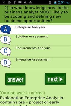 CCBA Exam Quiz Free for Android - APK Download