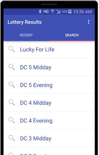 Download Lotto Results for DC Lottery latest 3 0 Android APK
