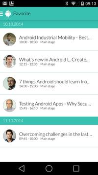 Droidcon Eastern Europe apk screenshot