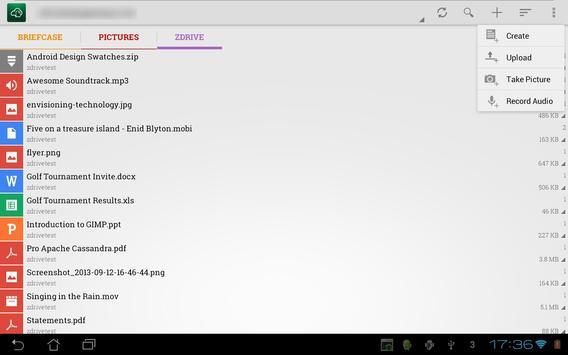 ZDrive syot layar 2