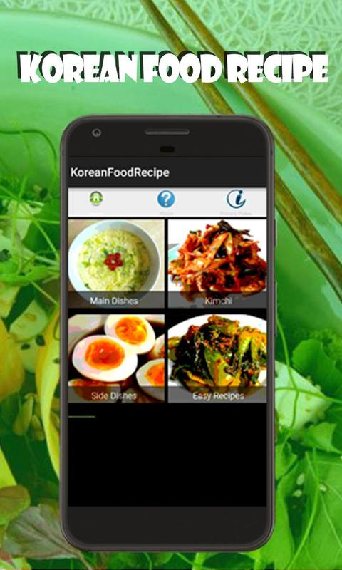 Korean food recipe apk download free food drink app for android korean food recipe poster forumfinder Image collections