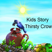 Kids Story Thirsty Crow icon