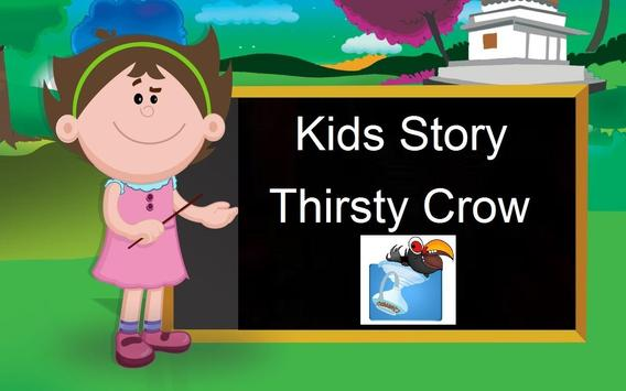 Kids Story Thirsty Crow poster