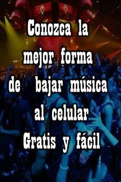 Bajar Musica Gratis Mp3 al Celular guía - tutrial screenshot 3