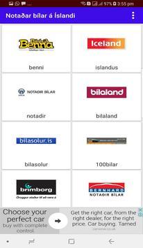 Notaðar bílar á Íslandi poster