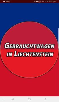 Gebrauchtwagen in Liechtenstein poster