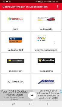 Gebrauchtwagen in Liechtenstein screenshot 1