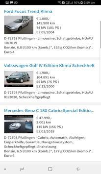 Gebrauchtwagen in Liechtenstein screenshot 2