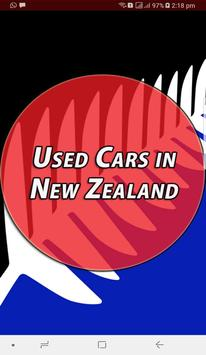 Used Cars in New Zealand poster