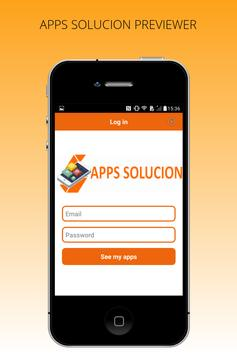 APPS SOLUCION PREVIEWER poster