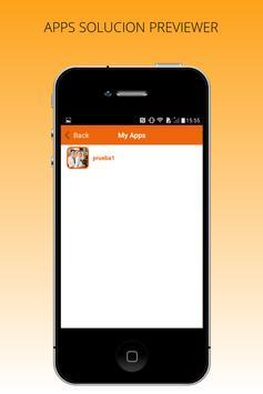 APPS SOLUCION PREVIEWER apk screenshot