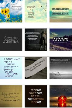 Inspirational Quotes Pictures poster