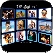 Quick Photo Gallery 3D & HD icon