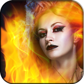 Fire Stickers & Photo Filters icon