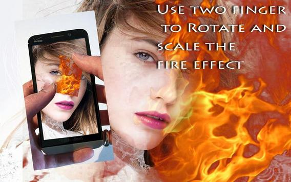 Fire Stickers & Photo Filters apk screenshot