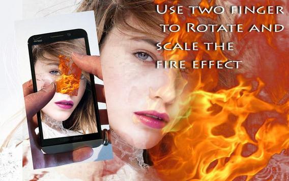 Fire Stickers & Photo Filters screenshot 3