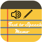 Text To Speech Memo icon
