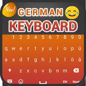 لوحة المفاتيح الألمانية: الكتابة الألمانية أيقونة