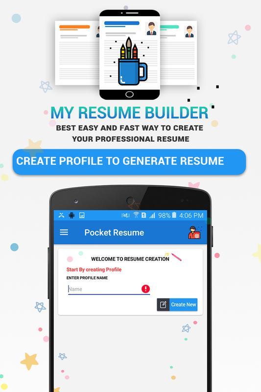 резюме Builder App Professional Cv Maker для андроид скачать Apk
