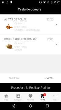 Food Express App screenshot 4
