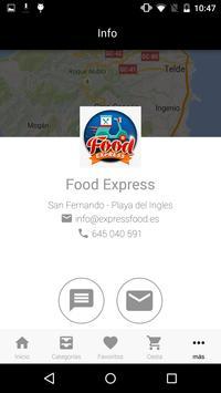 Food Express App screenshot 5