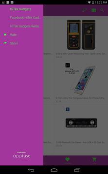 HiTek Gadgets Geek Shopping poster