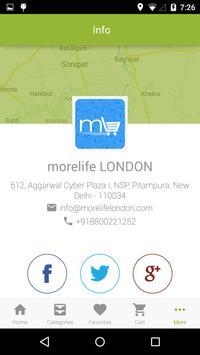 morelife LONDON apk screenshot